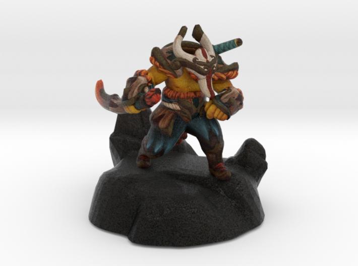Juggernaut (Dashing Swordsman set) 3d printed