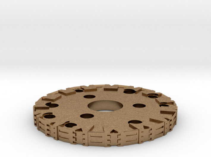 Detailed Chassis Disk 3d printed