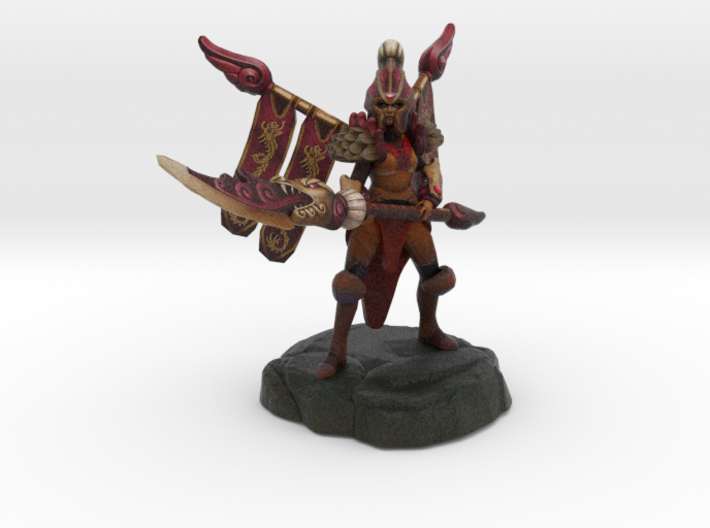 Legion Commander (Commander of the Dragon Guard) 3d printed