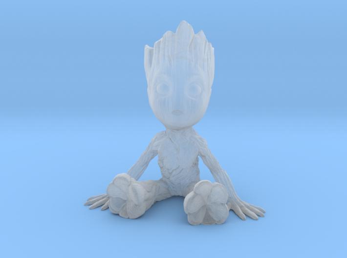1/24 Baby Groot Sitting 3d printed