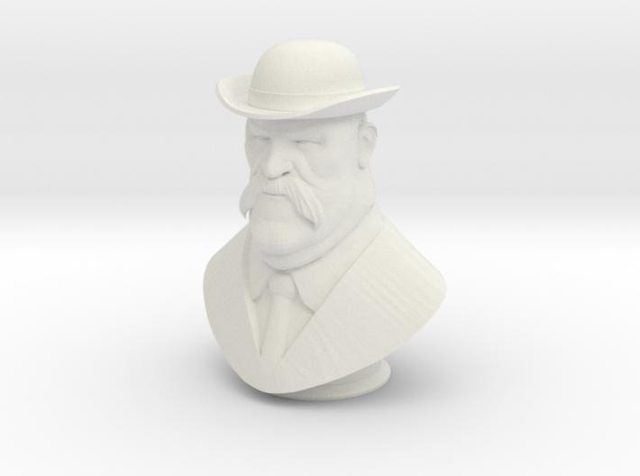 Bilious Hale Bust 3d printed
