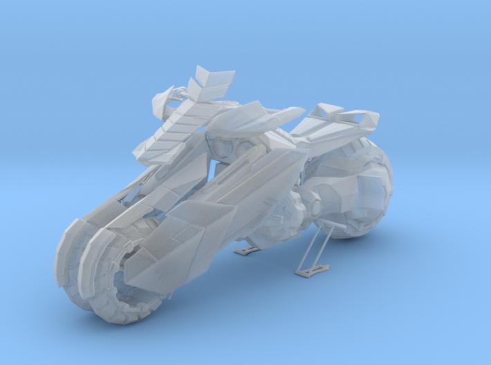 1/18 Three Wheels Motorcycle Sci-Fi 3d printed