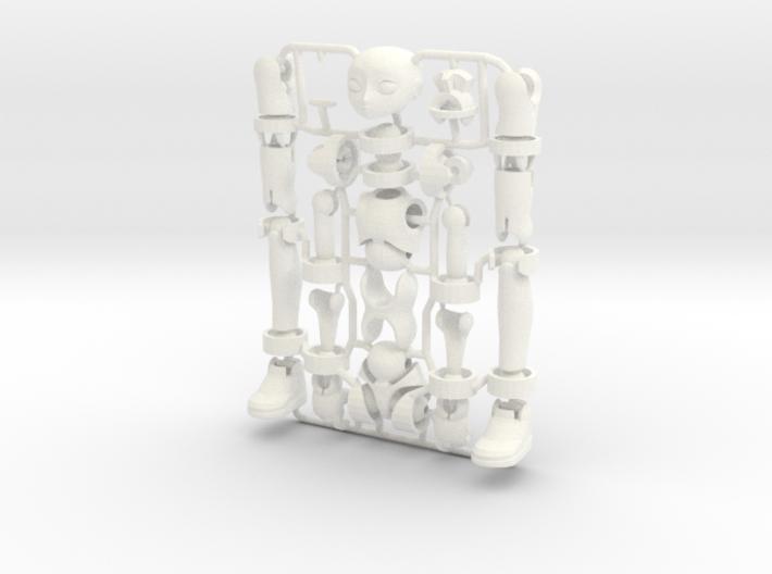 Ersatz MkII action figure Male Body 3d printed