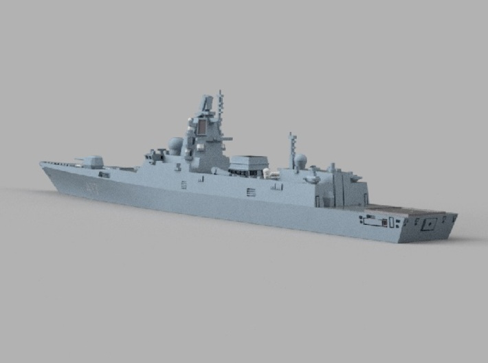 1/1250 RFS Admiral_Gorshkov 3d printed Computer software render.The actual model is not full color.