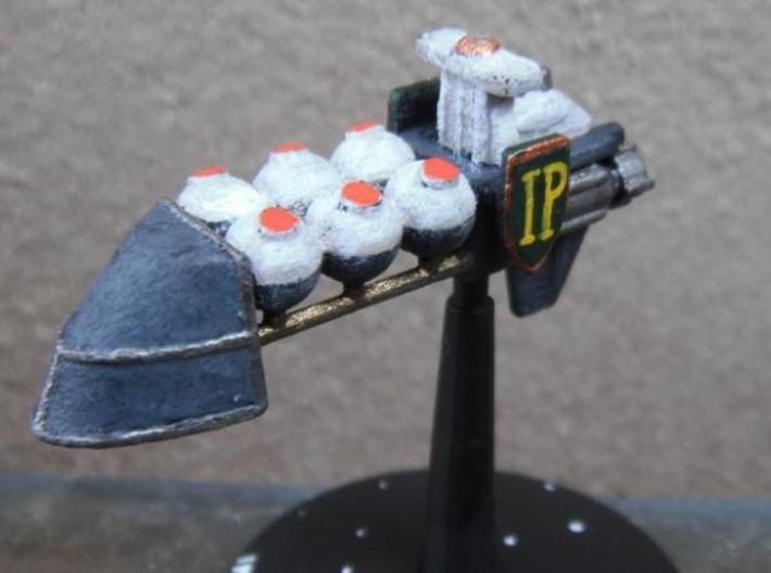 Imperial Pride-Class Tanker 3d printed Model in WD after painting (Stand not included)