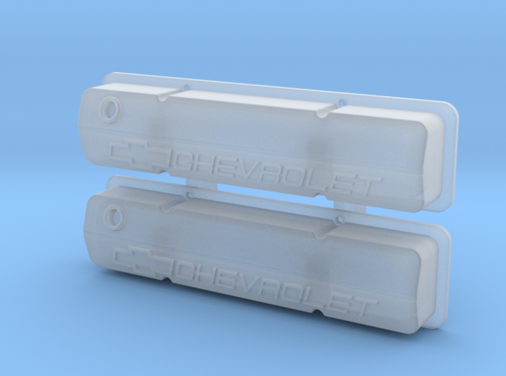 Small Block Chevrolet Racing Valve Covers 3d printed