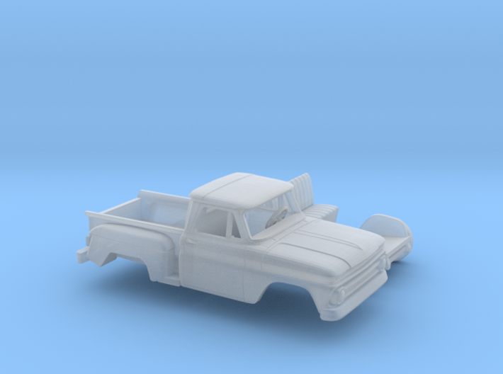 1/87 1963-66 Chevrolet C-10 Stepside Small W. Kit 3d printed