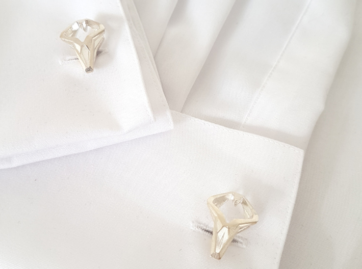 HEAD TO HEAD Unicon, Cufflinks 3d printed