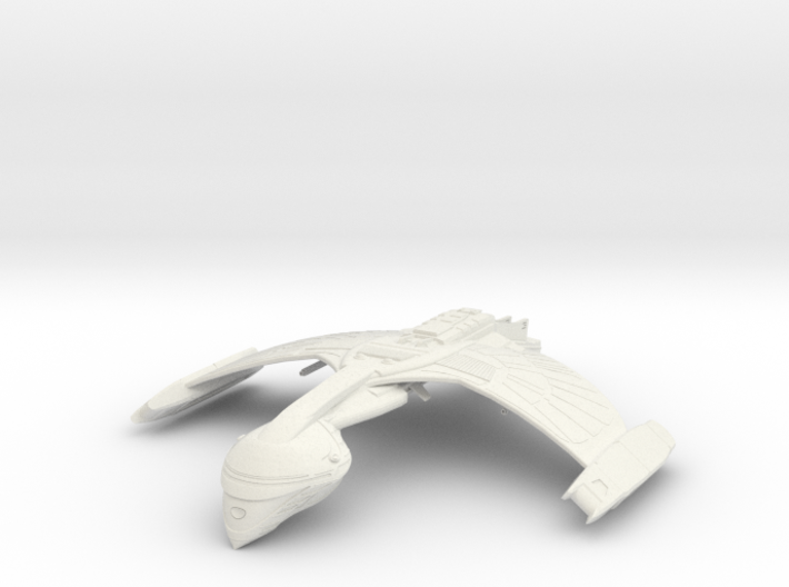 Romulan FireBird Class WarBird wings up 3d printed