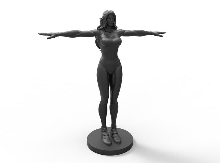 She Hulk 50mm (base) 3d printed