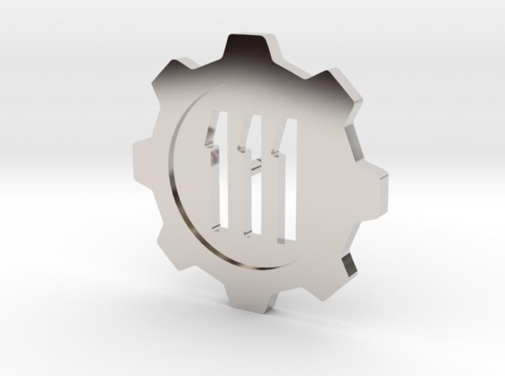 Fallout 4 Vault 111 Lapel Pin 3d printed