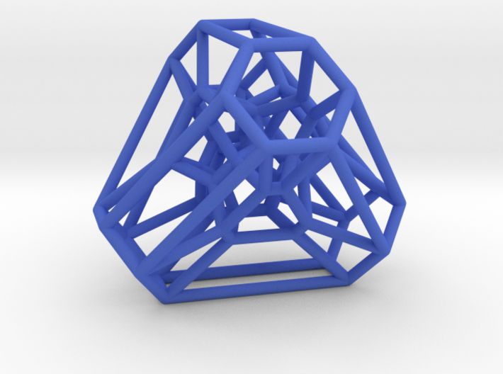 Graph Associahedron for K(4,1) 3d printed
