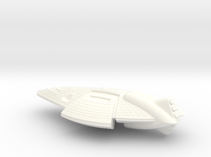 Leviathan Class Monitor - 1:20000 3d printed