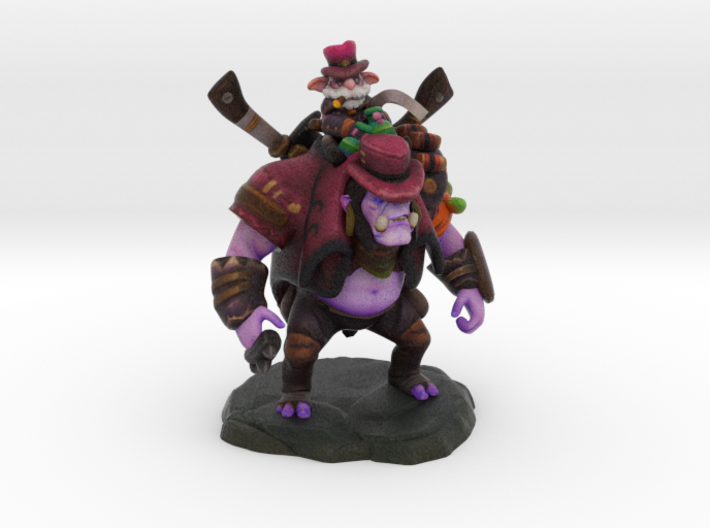 Alchemist (Darkbrew Enforcer set) 3d printed