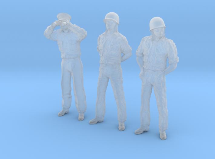 1/48 USN PT Crew Set06-04 3d printed