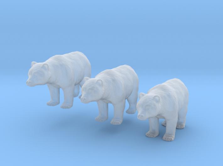 Bären - 1:160 (n scale) 3d printed