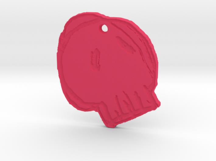 Flangipanis Skull 3d printed
