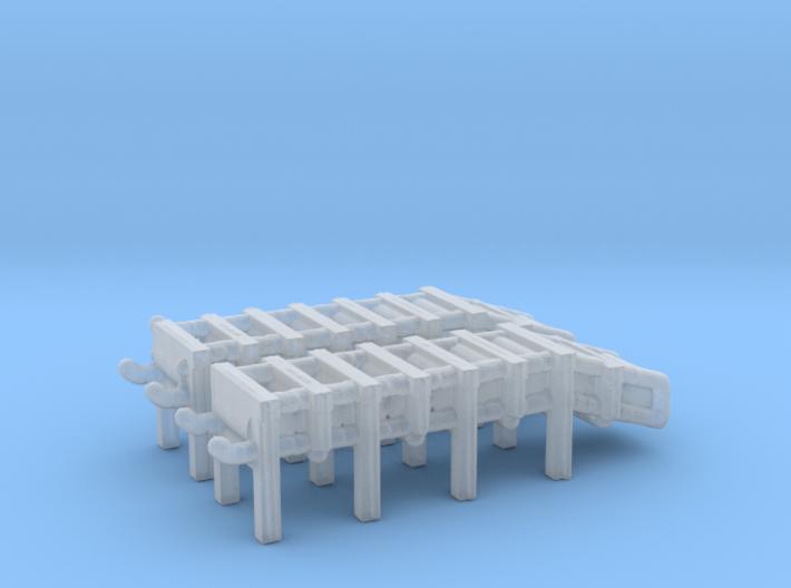 1/300 Scale DC Racks 3d printed