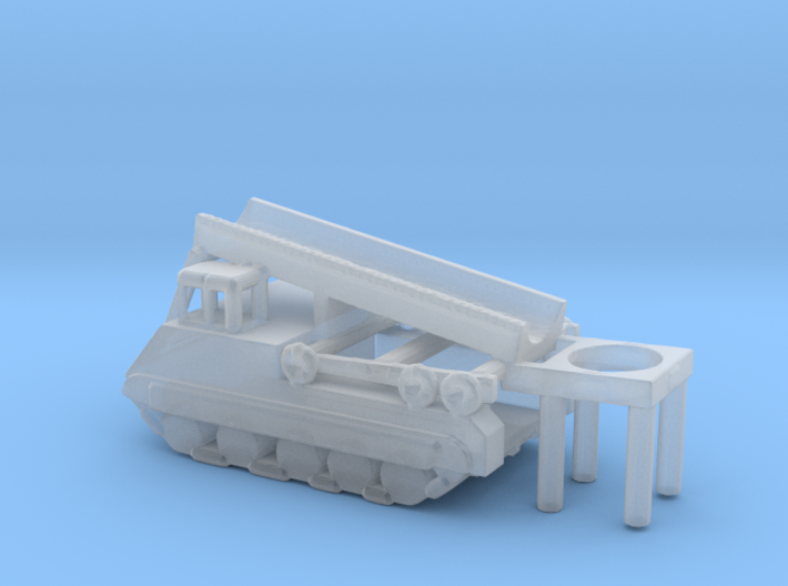 1/285 Scale M474 Pershing Launcher 3d printed
