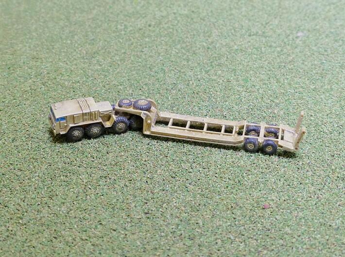 MAZ 537 Tank Transporter 1/285 6mm 3d printed