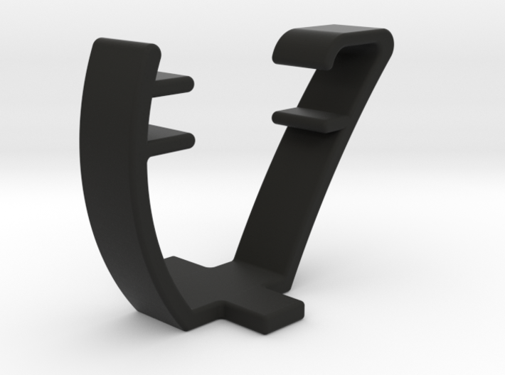 Sillouette Quick Holder 3d printed