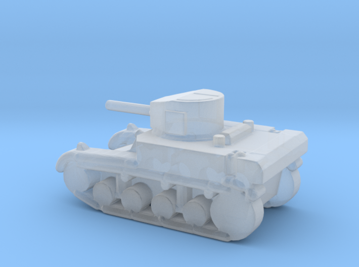 1/285 Scale Stuart M3A1 Light Tank 3d printed