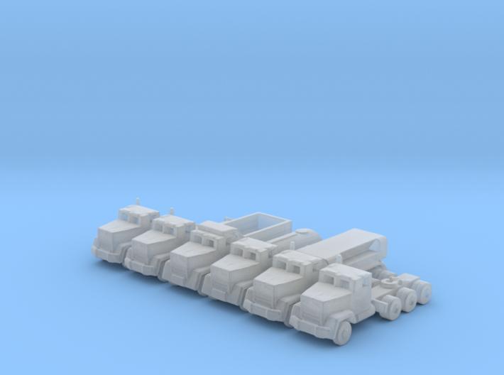 1/285 Scale M915 Through M920 Trucks 3d printed
