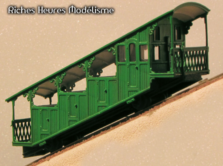 HOfunMD03 - Mont Dore funicular 3d printed