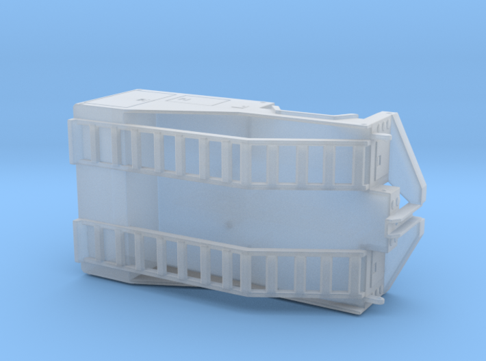 1/50th Mobile Home tug or equipment truck body 3d printed