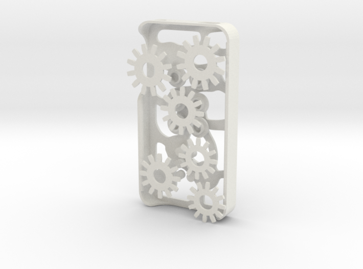 Mechanical Gears Iphone Case 4/4s 3d printed