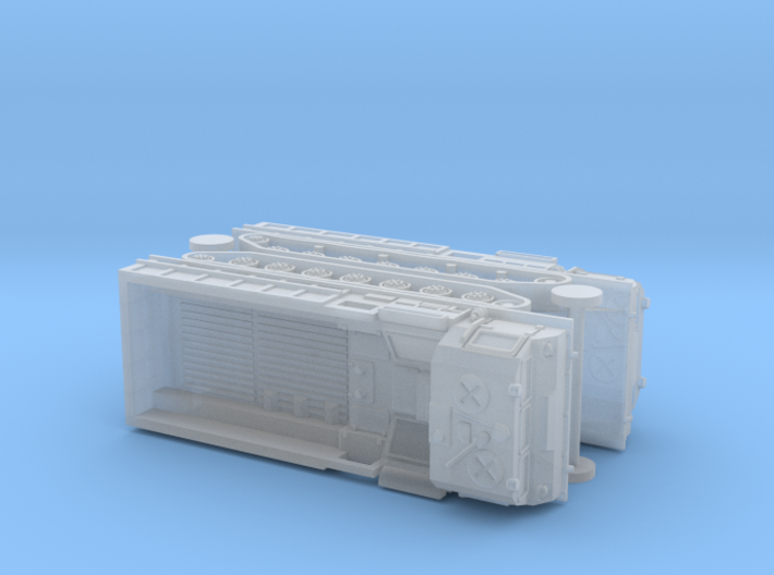 MT-T Full Tracked Carrier / Prime Mover 1/144 3d printed