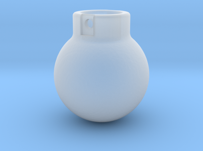 1-87 - 500KG- Wrecking Ball - Ball Shape 3d printed