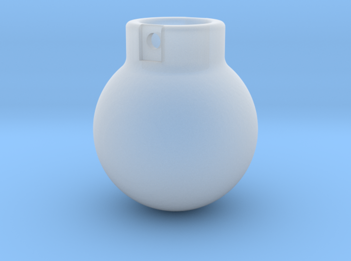 1-87 - 2000KG- Wrecking Ball - Ball Shape 3d printed