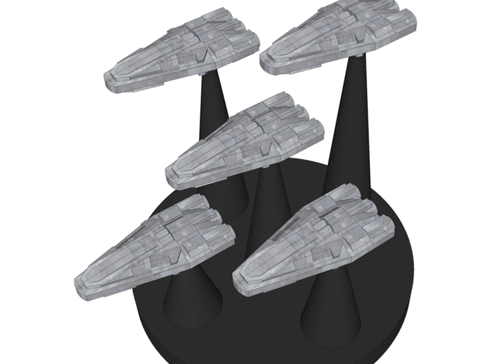 100x Assault Craft 3d printed SketchUp picture