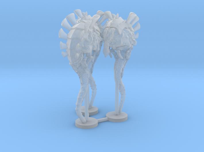 Alien Bug Lurker 3 Bases 3d printed