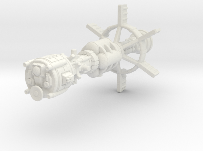 Earther Gunboat Carrier 3d printed