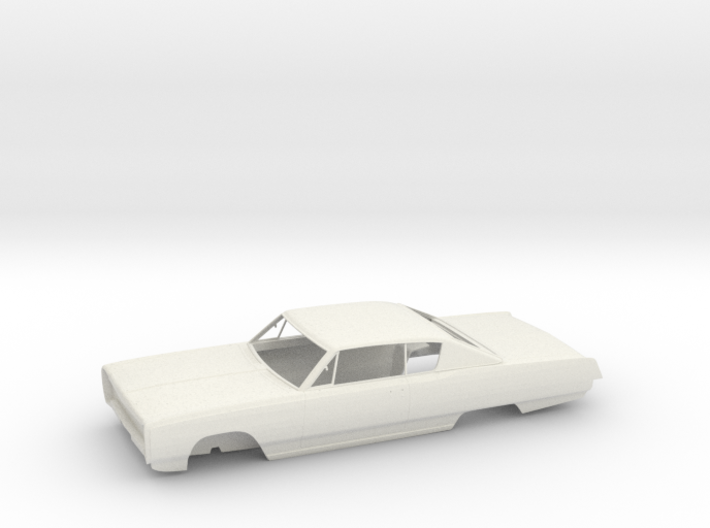 Plymouth Sport Fury '67 - Bodywork 3d printed