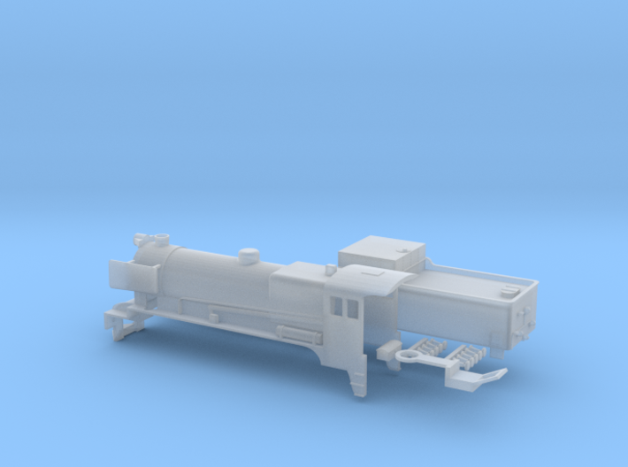 Victorian Railways C Class Steam Loco - N Scale 3d printed