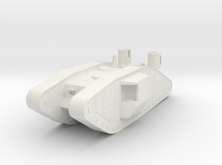 1/100 Trench Tank 3d printed