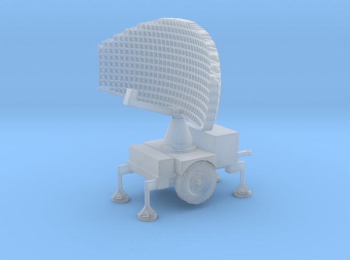 1/87 Scale Hawk Missile Search Radar 3d printed