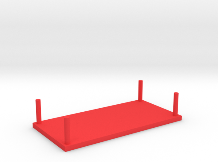 Model Bench Table 3d printed