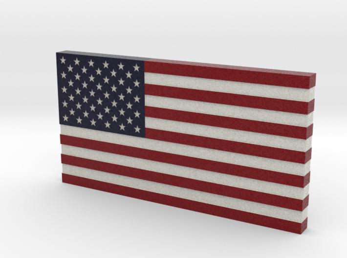 USA Flag V2 3d printed