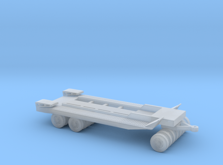 1/87 Scale M20 Trailer 3d printed