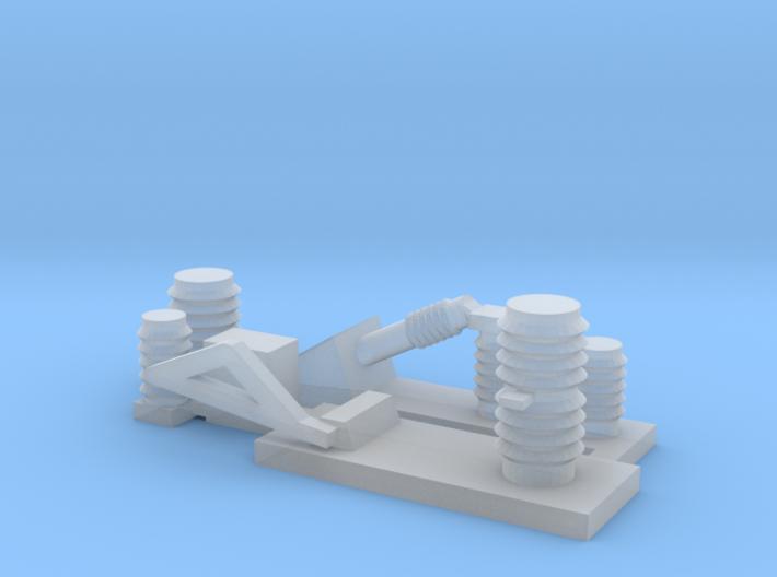 AC Electoric parts 1 3d printed