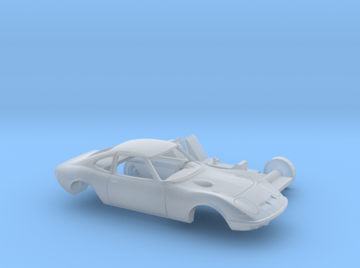 1/120 1968-73 Opel GT Two Piece Kit 3d printed
