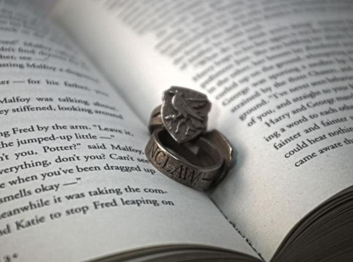 Ravenclaw Ring Size 5 3d printed Ravenclaw Ring