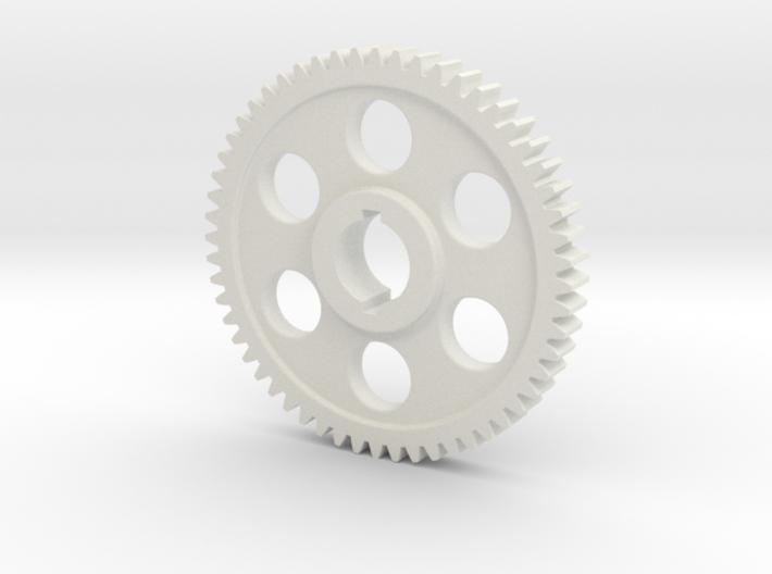 "56T Atlas/Craftsman 12"" lathe Change Gear 3d printed"