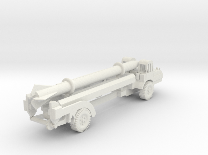 1/87 Scale MGM-5 Corporal Missile and Transporter 3d printed