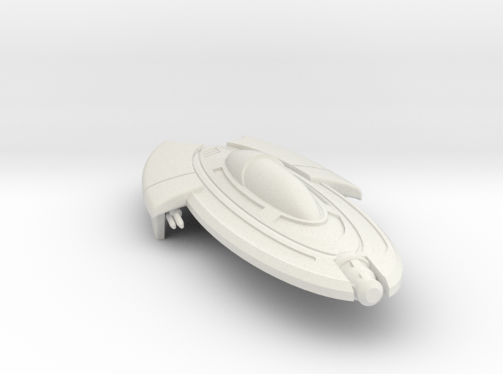 Ori Fighter: 1/270 scale 3d printed