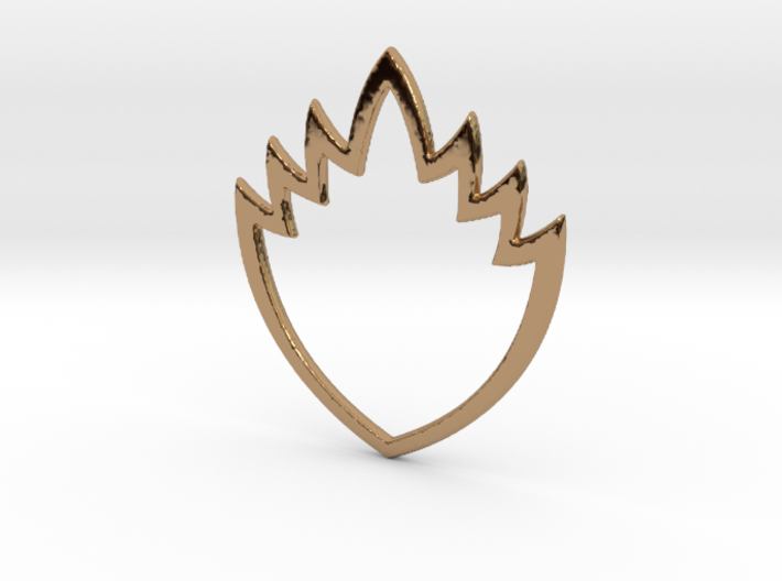 Ravager Flame Pendant 3d printed